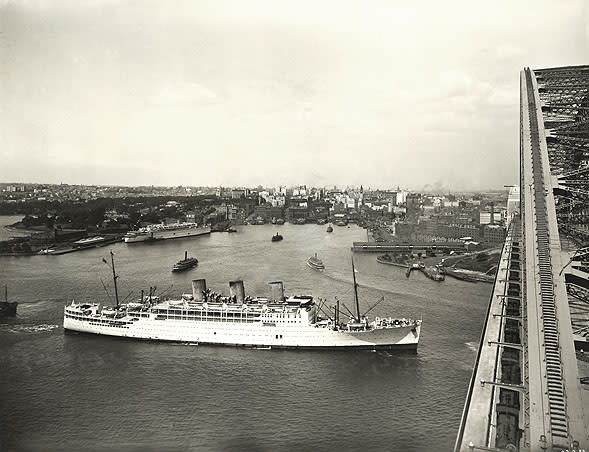 July 18: First air-conditioned luxury cruise liner is launched in 1931