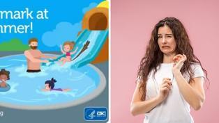 籲民眾別在泳池留「痕跡」 美國CDC曝超狂動畫看板