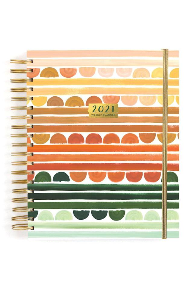 """<p><strong>1canoe2</strong></p><p>1canoe2.com</p><p><strong>$36.00</strong></p><p><a href=""""https://1canoe2.com/collections/calendars/products/sienna-hills-planner"""" target=""""_blank"""">Shop Now</a></p><p>1canoe2—a woman-run illustration company based in Fulton, Missouri—consistently produces some of the most beautiful and functional planners. Snag whichever design you like (good luck choosing though) in either an academic- or calendar-year format. </p>"""