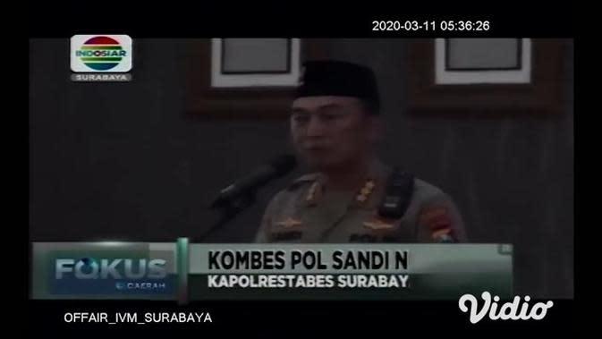 VIDEO: Deklarasi 'Jogo Suroboyo' Kawal Pilkada Damai 2020