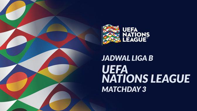MOTION GRAFIS: Jadwal UEFA Nations League Liga B Matchday 3, Rusia Hadapi Turki