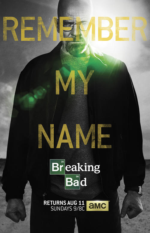 New 'Breaking Bad' Poster: Walter White at His Most Menacing