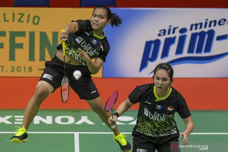Fadia/Ribka gagal ke perempat final All England 2020