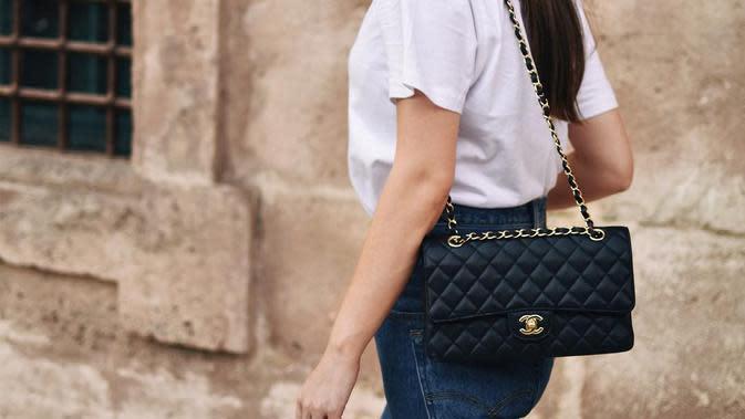 Classic Flap Bag Chanel. (Foto: instagram/gosiaboy)