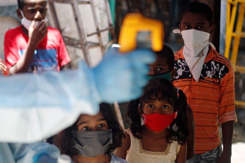 The coronavirus disease (COVID-19) outbreak in Mumbai