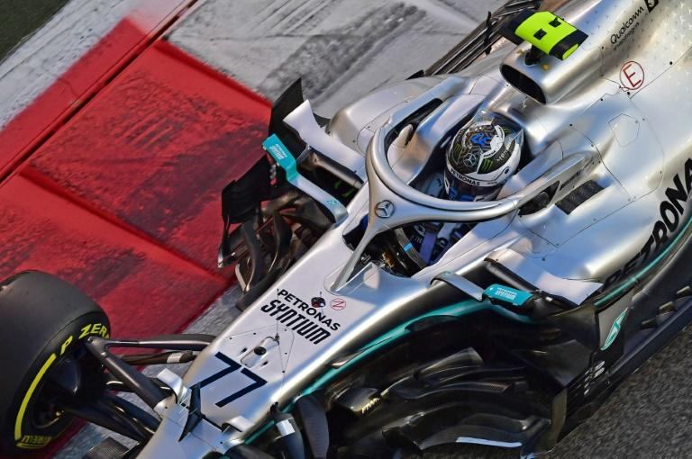 Bottas apologises after Grosjean collision