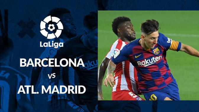 MOTION GRAFIS: Barcelona Ditahan Atletico Madrid di Camp Nou
