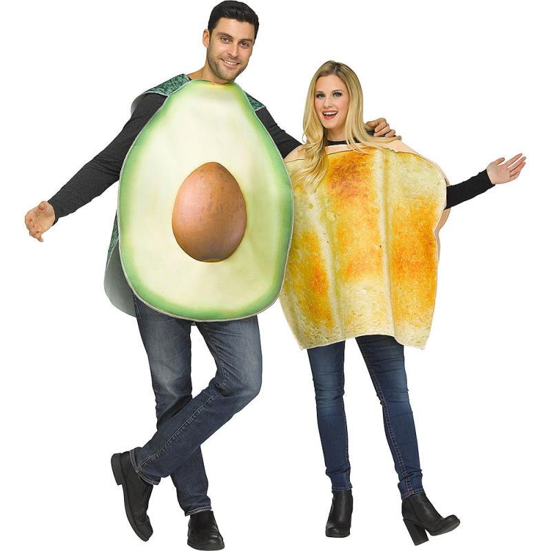 Avocado Toast Couples Costume. Image via Party City.