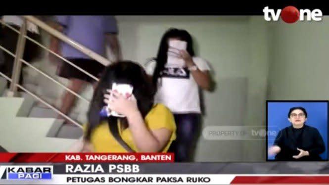 PSBB, Satpol PP Gerebek Panti Pijat Plus-plus di Tangerang