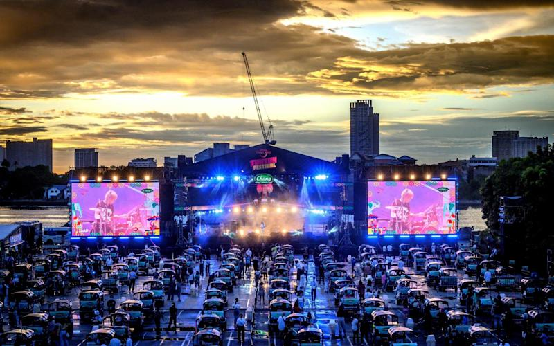 The event, organised by the Tourism Authority of Thailand, is aimed at promoting tourism and stimulating the economy - AFP