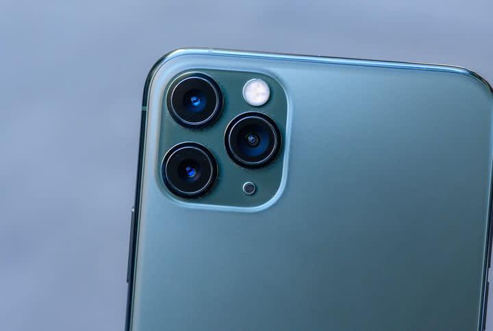iPhone 11 Pro Max rear triple camera