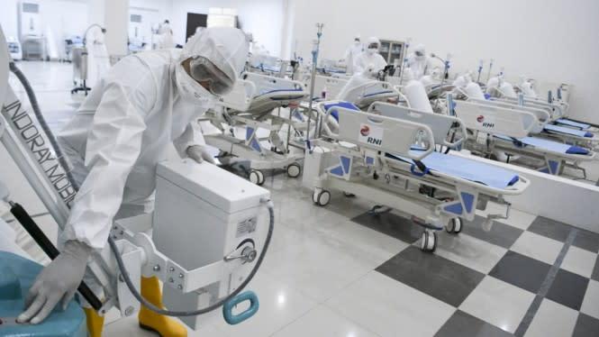 Terharu, 20 Ribu Orang Non Medis jadi Relawan COVID-19