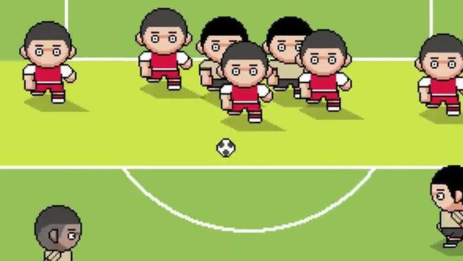 VIDEO: Gol Bintang Manchester United, Paul Pogba di Premier League Musim Ini Versi Gim Retro