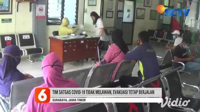 VIDEO: Tolak Suami Dievakuasi, Tim Satgas COVID-19 Dilumuri Kotoran