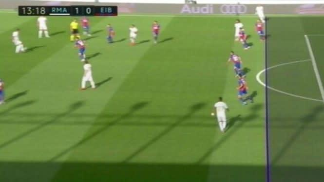 Kontroversi Gol Berbau Offside Real Madrid Vs Eibar
