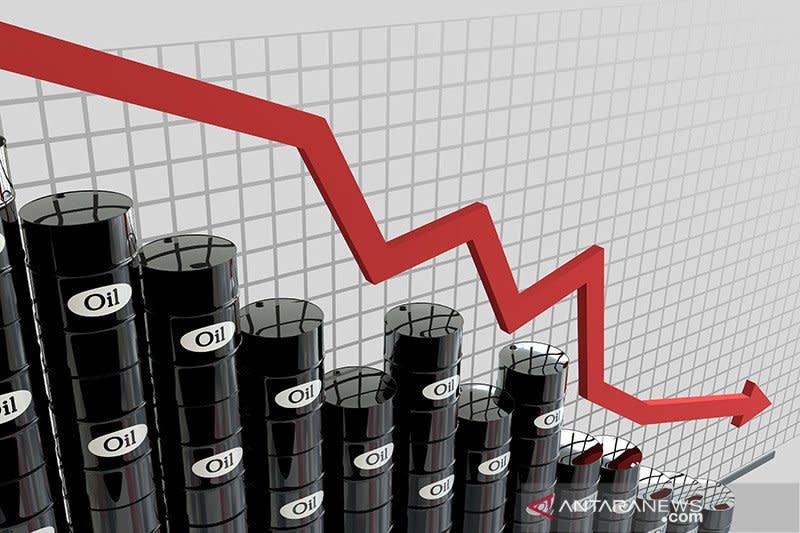 Harga minyak jatuh lagi, permintaan merosot dan stimulus diabaikan
