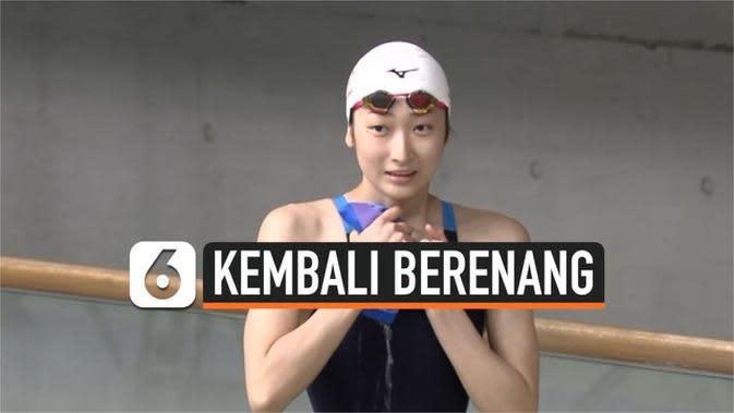 VIDEO: Perenang Jepang, Rikako Ikee Kembali Berkompetisi Setelah Didiagnosis Leukemia