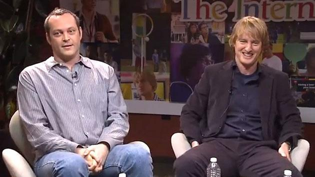 Vince Vaughn and Owen Wilson hang out on Google and unveil 'The Internship' trailer