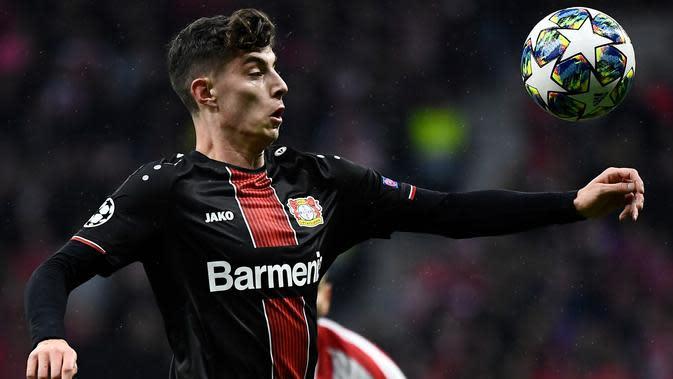 Kai Havertz (Leverkusen) (AFP/Oscar Del Pozo)