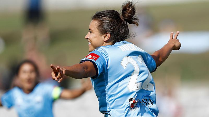 Sofia Huerta was part of Sydney FC's 2019 W-League grand final triumph.