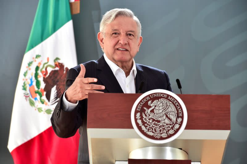 Mexico's president accuses Spain's Iberdrola of 'hidden' media attack