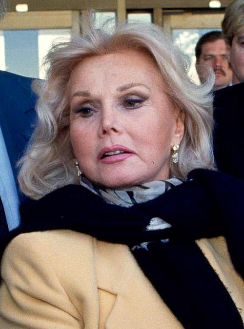 FILE - In this Jan. 27, 1993 file photo, actress Zsa Zsa Gabor is shown in Midland, Texas. Gabor was taken to a hospital Saturday Oct. 8, 2011 after being found unconscious in her home. (AP Photo/Curt Wilcott, File)