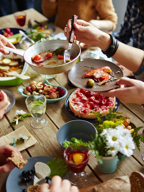 pola makan yang buruk adalah faktor (sumber: iStockphoto)