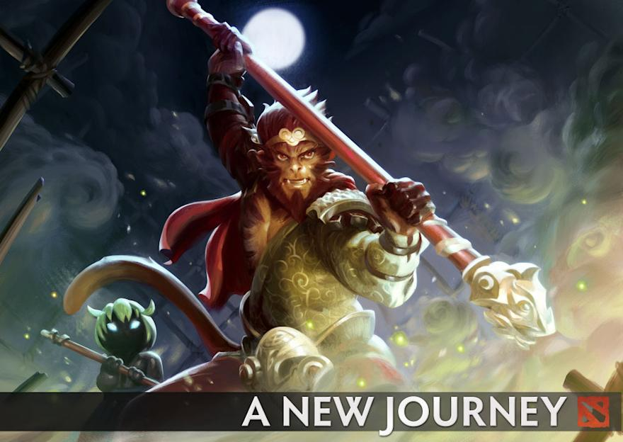Monkey King has arrived, along with Dota 2 version 7.00. (Valve)