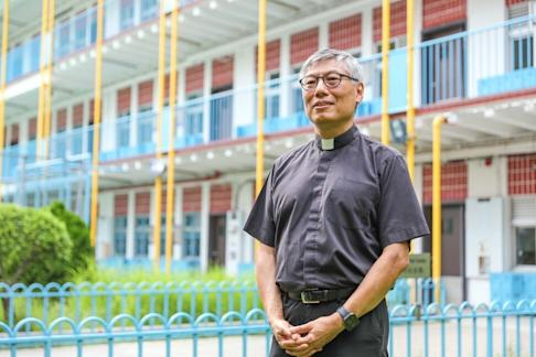 Father Stephen Chow, supervisor of Wah Yan colleges. Photo: Nora Tam