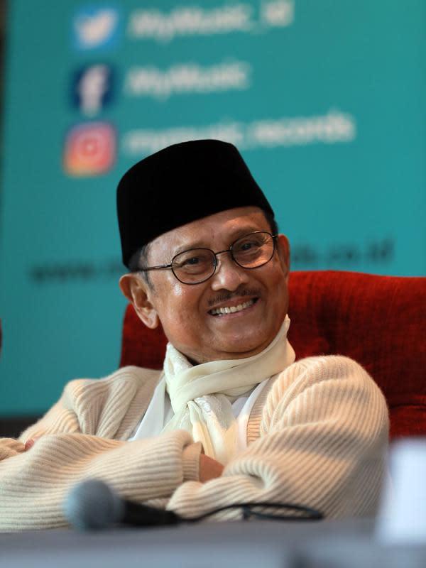 B.J Habibie. (Adrian Putra/bintang.com)