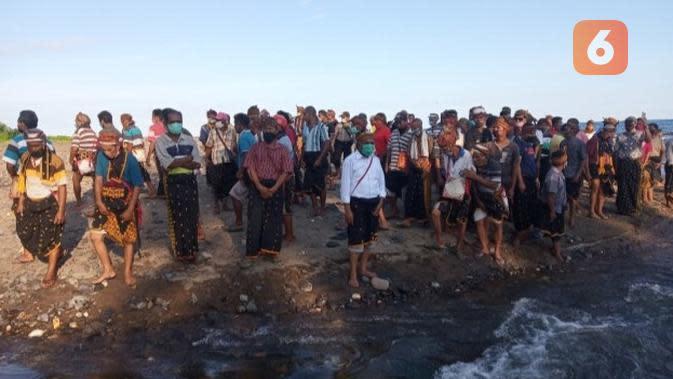 Alunan Zikir Ritual 'Ratik Tolak Bala', Untaian Asa Nelayan Kota Pariaman