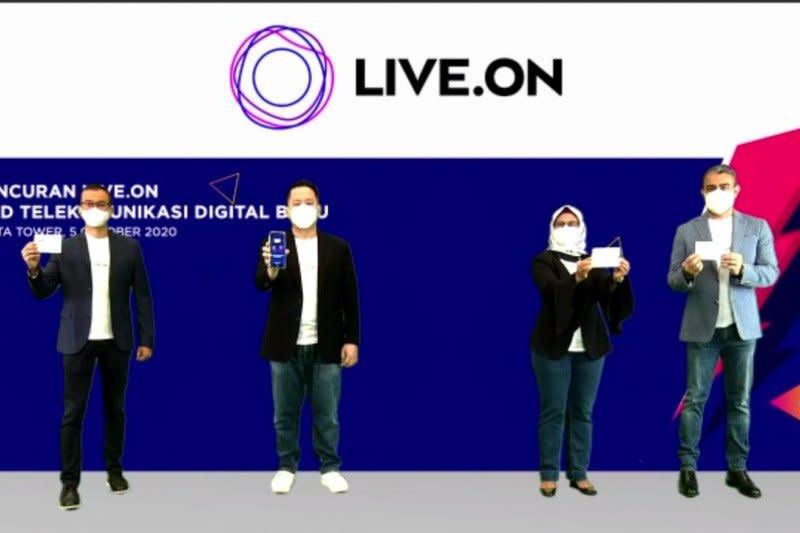 XL Axiata luncurkan Live.On, layanan digital buat pengguna kuota besar