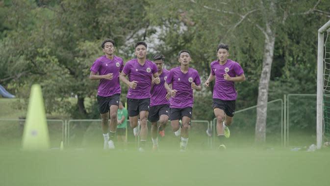 Pemain Timnas Indonesia U-19 saat menjalani pemusatan latihan di Kroasia. (Dok PSSI)