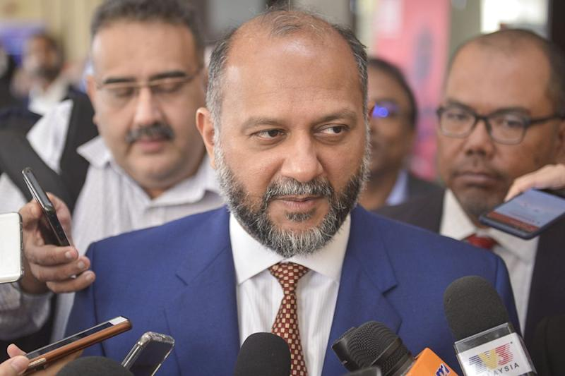 Communications and Multimedia minister Gobind Singh Deo says the best advice he received from his father was to persevere and that goals and aspirations were not going to be achieved overnight. — Picture by Mukhriz Hazim