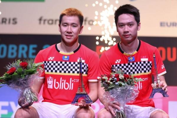 Wow! Jadi Juara Fuzhou China Open 2019, Kevin/Marcus Pecahkan 5 Rekor!
