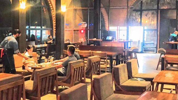 Langgar PSBB Transisi, Restoran Makanan Jepang di Jakbar Didenda Rp 10 Juta