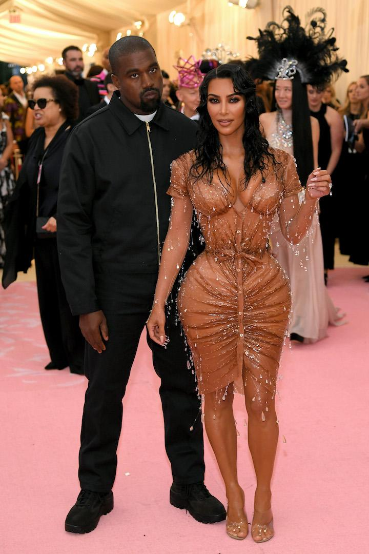 Kim Kardashian trialled one of her shapewear garments at the 2019 Met Gala [Photo: Getty]