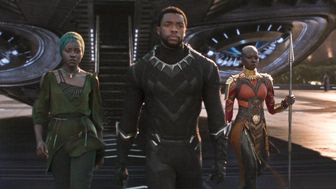 Film superhero Marvel, Black Panther. foto: Marvel.com