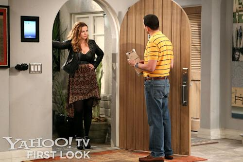 First Look at Amber Tamblyn on 'Two and a Half Men' [Exclusive]