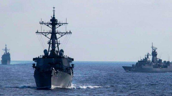 VIVA Militer: Kapal Perang Australia HMAS Parramatta.
