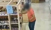 獨/想吃海鮮用偷的!北市最扯女賊超市狂偷63件商品