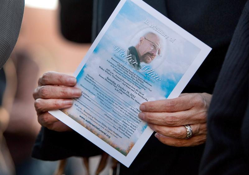 'Breaking Bad's' Walter White Gets a Real-Life Funeral