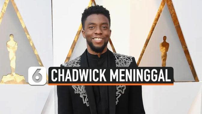 VIDEO: Chadwick Boseman Meninggal, Warganet Berduka