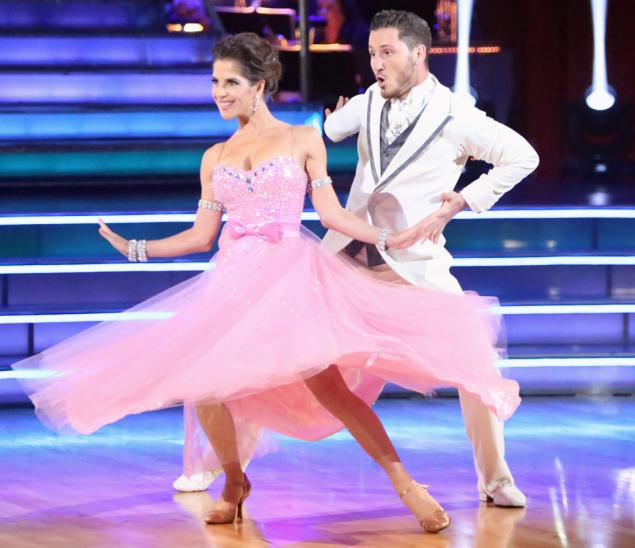 Kelly Monaco and Valentin Chmerkovskiy (10/1/12)