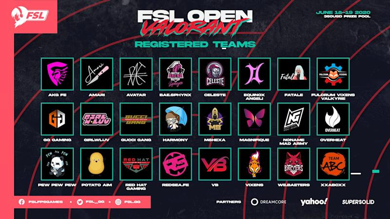 Female Esports League Valorant Open