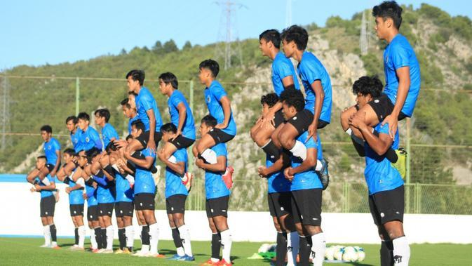Timnas Indonesia U-19 terus menjalani pemusatan latihan di Kroasia. (Dok PSSI)