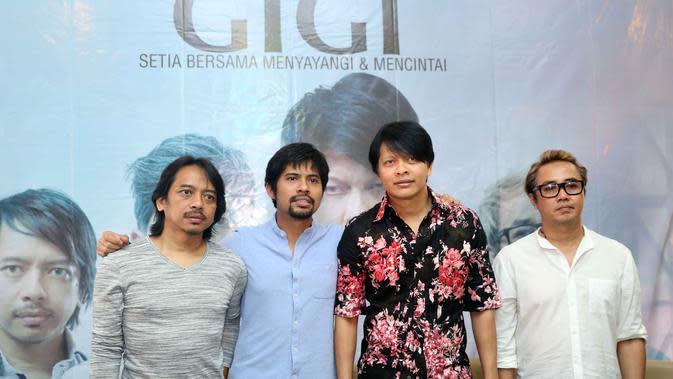 Gigi Band. (Nurwahyunan/Bintang.com)