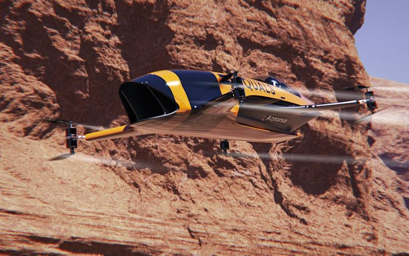 airspeeder flying car