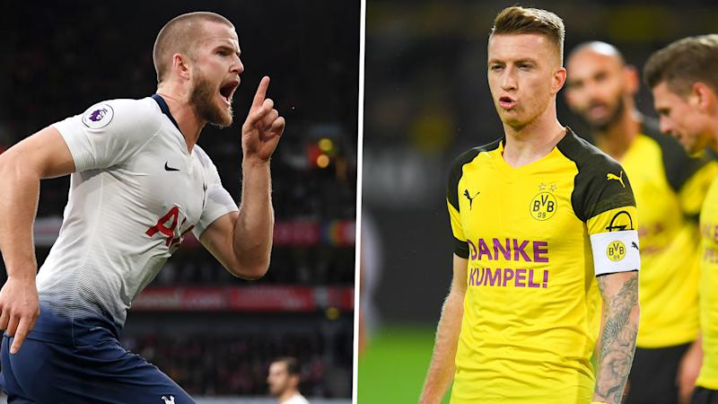 Dier boost for Spurs as Dortmund confirm quartet to miss Champions League clash