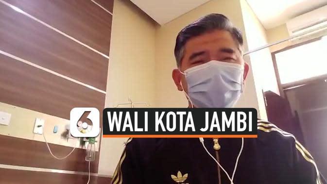 Keluarga Wali Kota Jambi Juga Positif Covid-19